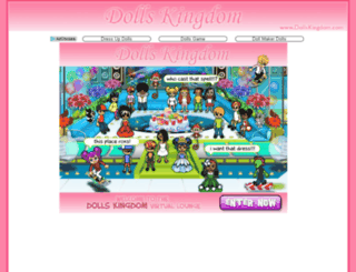 dollskingdom.com screenshot