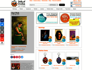 dollsofindia.com screenshot