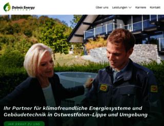 dolmic.de screenshot