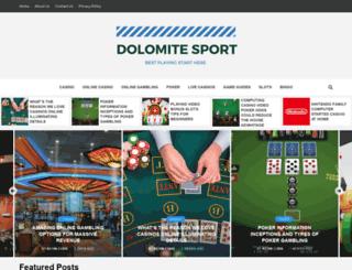 dolomitesport.com screenshot