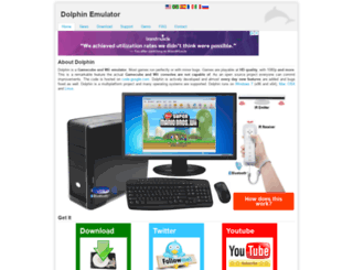 dolphin-emulator.com screenshot