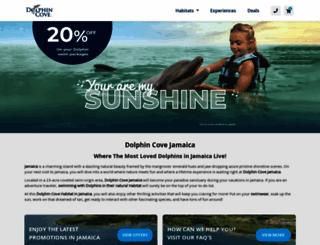 dolphincoveja.com screenshot