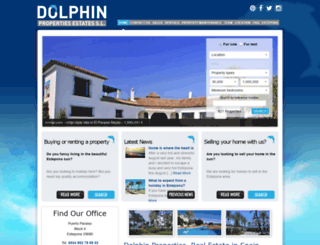 dolphinestates.com screenshot