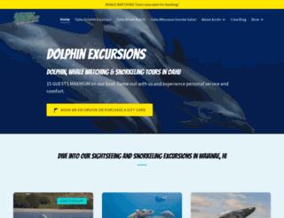 dolphinexcursions.com screenshot