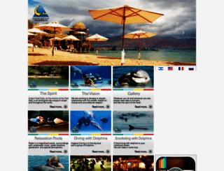dolphinreef.co.il screenshot