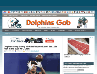 dolphinsgab.com screenshot