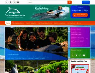 dolphinworld.org screenshot