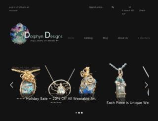 dolphyn-designs.myshopify.com screenshot