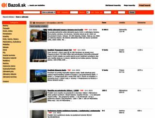 dom.bazos.sk screenshot