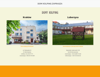 dom.kolping.pl screenshot
