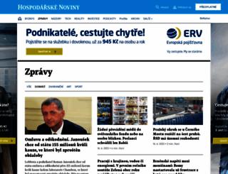 domaci.ihned.cz screenshot