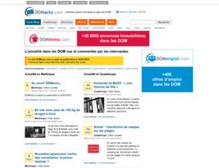 domactu.com screenshot