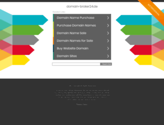 domain-broker24.de screenshot
