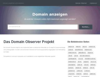domain-observer.com screenshot