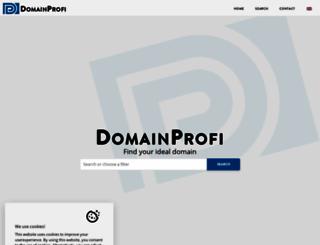 domain-profi.at screenshot
