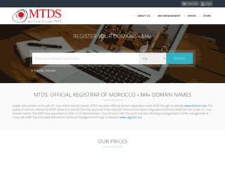 domain.ma screenshot
