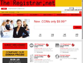domain.names-registration.com screenshot