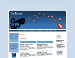 domain.nationalforum.com.au screenshot