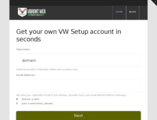 domain.vwsetup.com screenshot