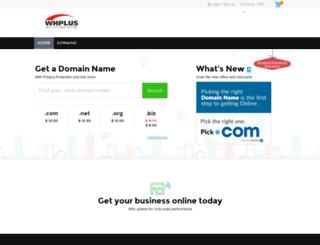 domain.whplus.com screenshot