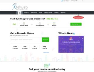 domain.xtelweb.com screenshot