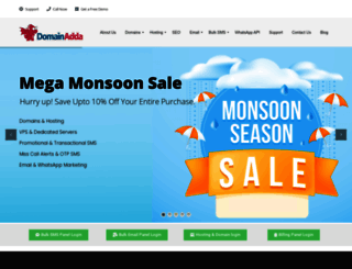 domainadda.com screenshot