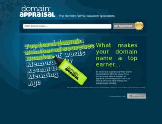 domainappraisal.com screenshot