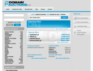 domainauctions.com screenshot