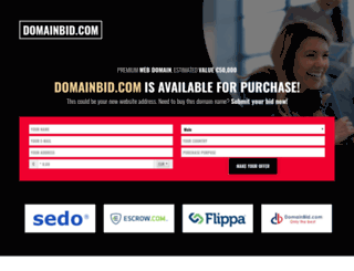 domainbid.com screenshot