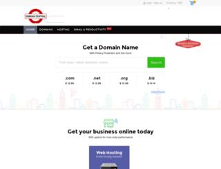 domaincentral.com screenshot