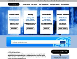 domaincheck.co.uk screenshot