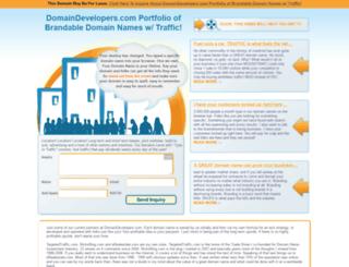 domaindevelopers.com screenshot