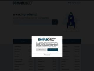 domaindirect.it screenshot