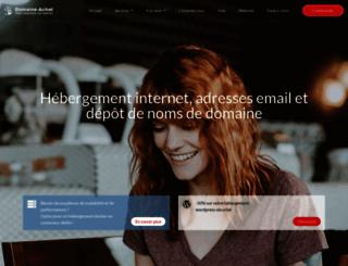 domaine-achat.fr screenshot