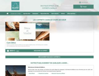 domaine-de-bellevue.secretbox.fr screenshot