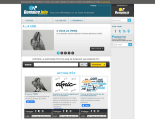 domaine.info screenshot