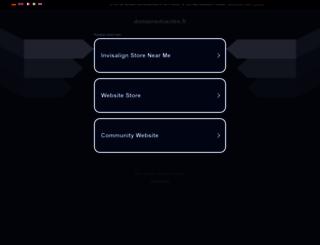 domainedusotre.fr screenshot