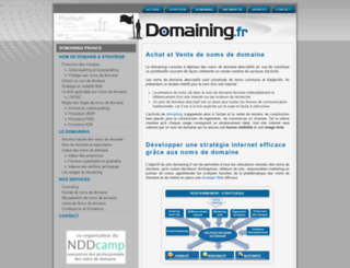 domaines-online.fr screenshot