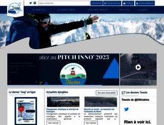domaines-skiables.fr screenshot