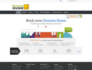domainhunk.com screenshot