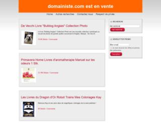 domainiste.com screenshot