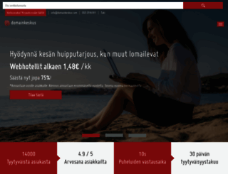 domainkeskus.com screenshot