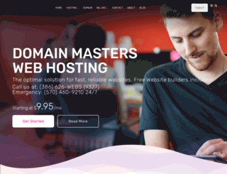 domainmasters.net screenshot