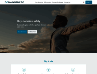 domainname.de screenshot