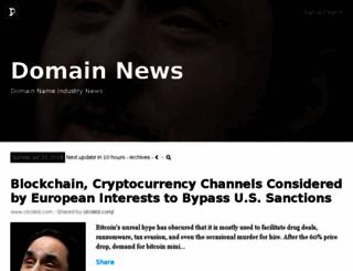 domainnews.com screenshot