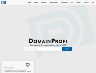 domainprofi.de screenshot