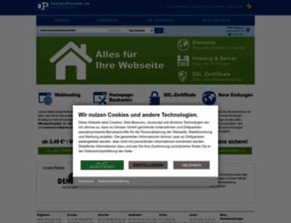 domainprovider.de screenshot