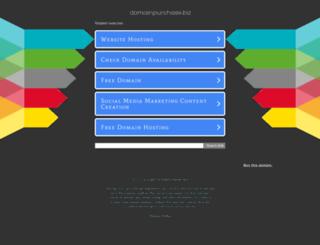 domainpurchase.biz screenshot