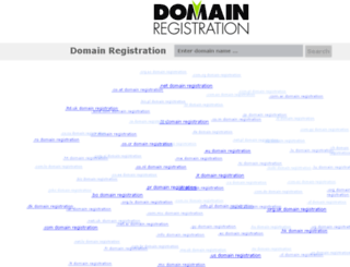 domainregistration.com screenshot