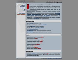 domainregisztracio.c3.hu screenshot